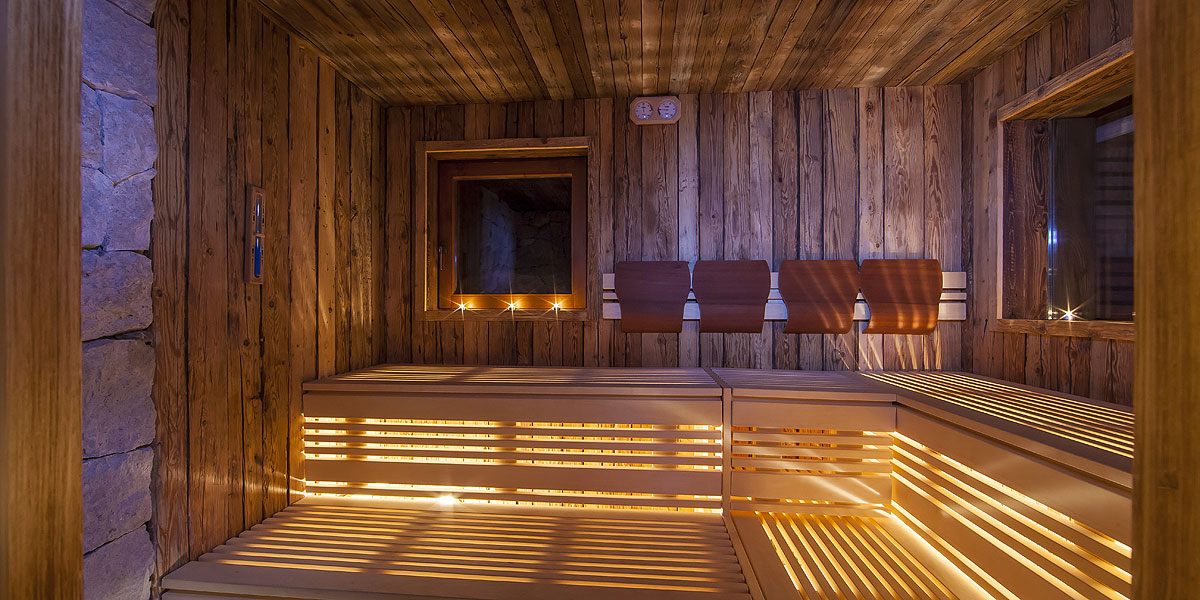 Alpine Wellness at the Chalet Merk in Val Gardena