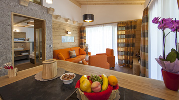 Suite Luis - Mountain Chalet Merk in the Dolomites