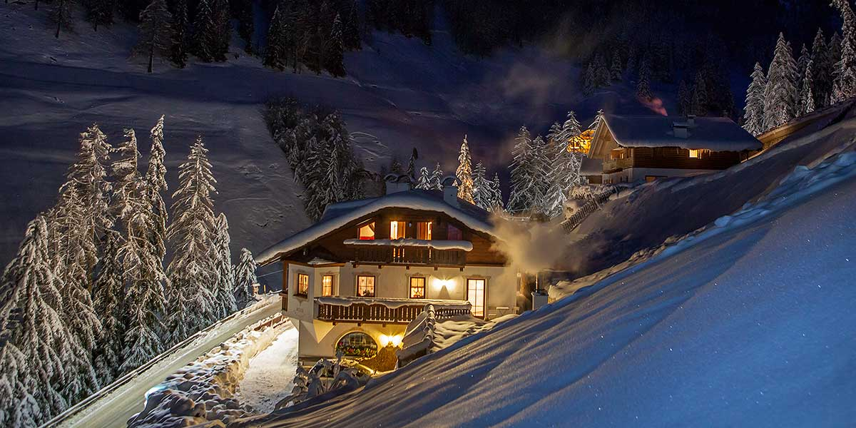 The Residence Merk is located in the heart of the Dolomites