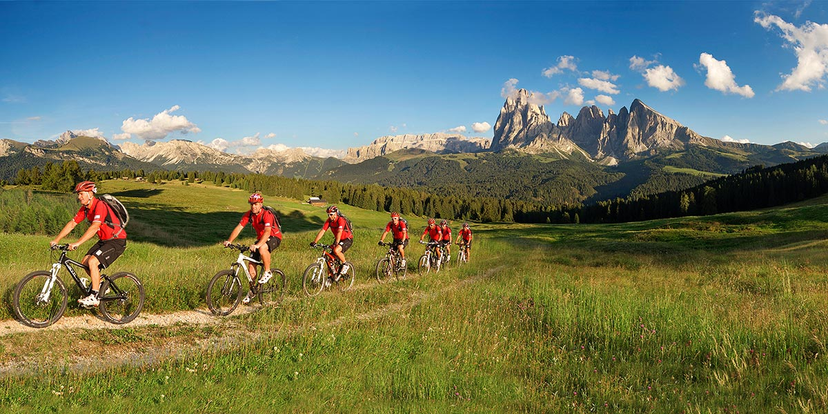 Summer holiday in Selva in Val Gardena